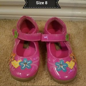 Pink dress shoes size 8